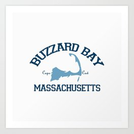 Buzzards Bay. Cape Cod Art Print