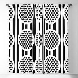Memphis Deco Reflector Pattern 321 Blackout Curtain