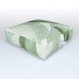 Tropical Leaves 2 Outdoor Floor Cushion