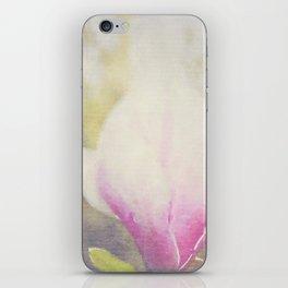 Magnolia × soulangeana -- Tulip Tree Flower Botanical Painterly iPhone Skin