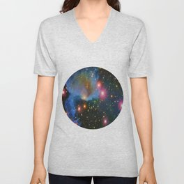 Molecular Cloud Near Orion's Belt Unisex V-Neck