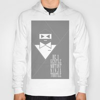 gentleman Hoodies featuring GENTLEMAN by sophia derosa