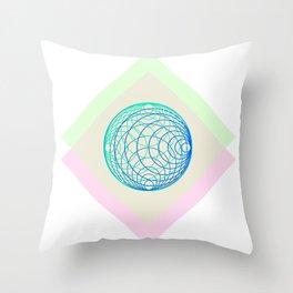 organic boule Throw Pillow