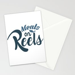 Meals on reels Stationery Cards