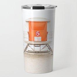 Orange Tower 5 Travel Mug