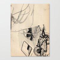 trip Canvas Prints featuring Trip by Paul Prinzip