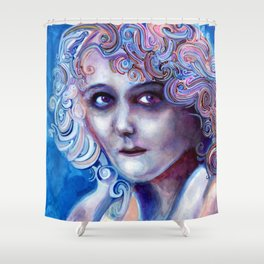 Mary Pickford Shower Curtain