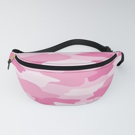 Pink Camo Style Pattern Fanny Pack