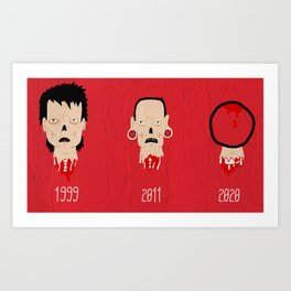 subcultures Art Print