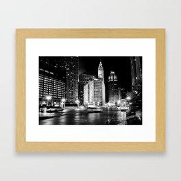 Wacker Ave Framed Art Print