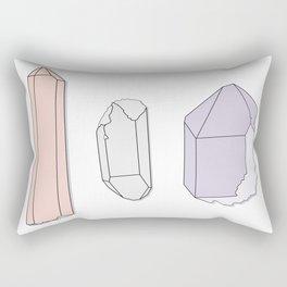 Crystals Trio Rectangular Pillow