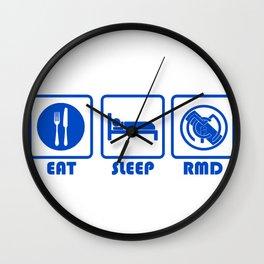 ESP: R Madrid Wall Clock