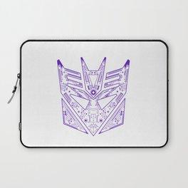 Decepticon Tech Purple Laptop Sleeve