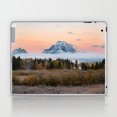 Autumn Sunrise in the Tetons Laptop & iPad Skin