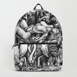 Orgasms Of Lights Backpack