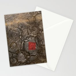 perplexed gold Stationery Cards