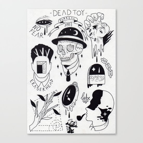 Surreal Shit  Canvas Print