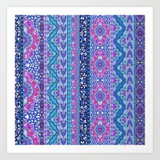 Farah Stripe Art Print