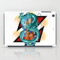 dbz iPad Cases featuring DBZ - A Hero by Mr. Stonebanks