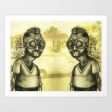 The Brewster Circle Boys Art Print