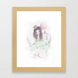 Magic Horse Framed Art Print