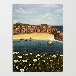 St. Ives Painting Poster