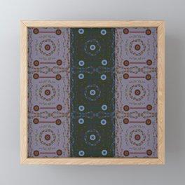 Flower Pattern11 Framed Mini Art Print