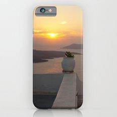 Santorini sunset Slim Case iPhone 6s