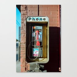 Street Relic Canvas Print