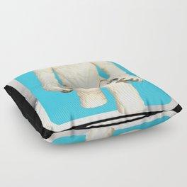 Wampa - Vintage action figure Floor Pillow