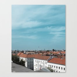 Berlin – Rooftop View Canvas Print