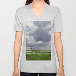 One Hot Summer Day Unisex V-Neck