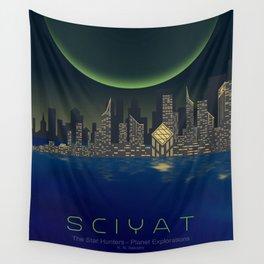 Planet Exploration: Sciyat Wall Tapestry