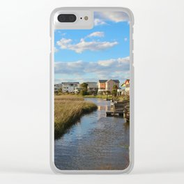Coastal Marshes Clear iPhone Case