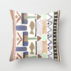 Pattern 004 Throw Pillow