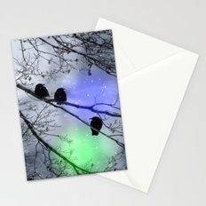 Polar Crows Stationery Cards
