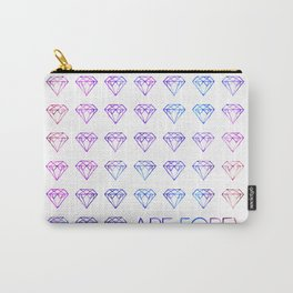 Diamonds are Forever II Carry-All Pouch