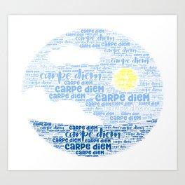 Carpe Diem (Sun) Art Print