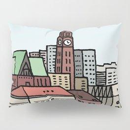 Hoboken Skyline Pillow Sham