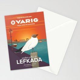Lefkada, Seabird at Sundown (GR) Stationery Cards