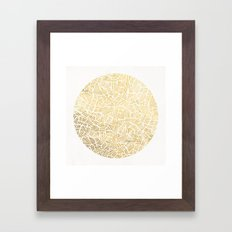 Inca Sun Framed Art Print