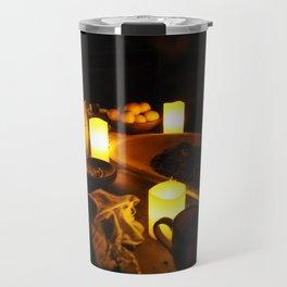 Kitchen by Candlelight Travel Mug