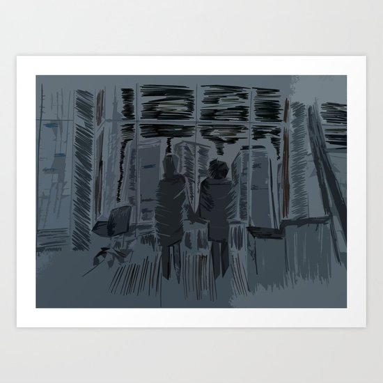 You Met Me At A Very Strange Time In My Life Art Print