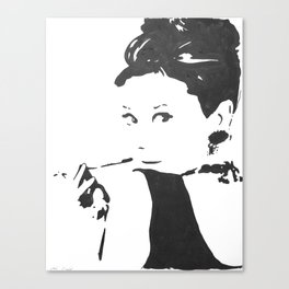 Holly Golightly Canvas Print