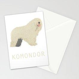 Komondor Stationery Cards