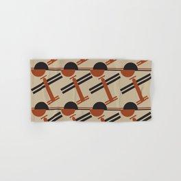 soviet pattern - constructivism Hand & Bath Towel