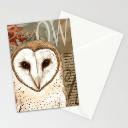 The Barn Owl Journal Stationery Cards