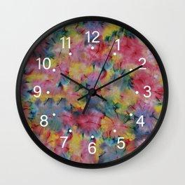 Tie Dye_CL Wall Clock