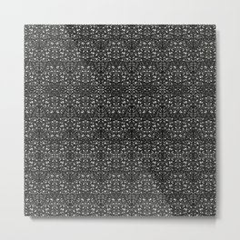 Glitter Metal Print