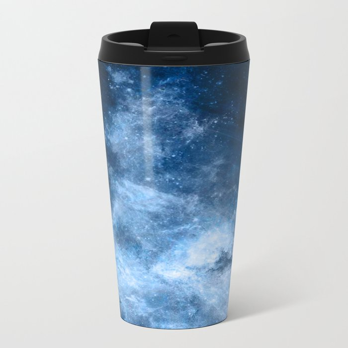 ε Delphini Metal Travel Mug